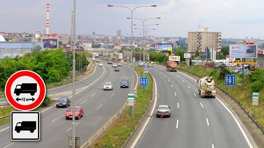 Praha – Studie omezení vjezdu nákladních automobilů na MO