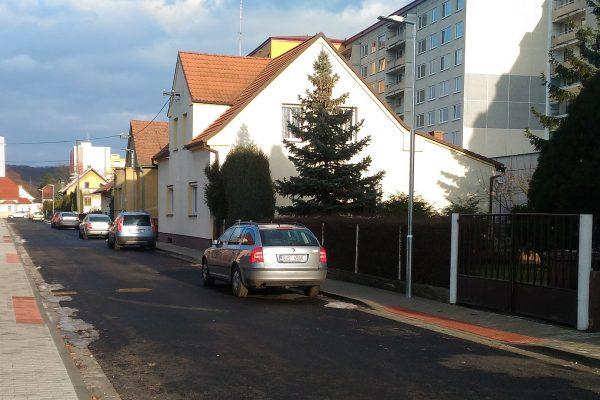 Štětí – oprava ul. Komenského