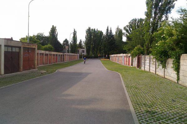 Čakovice – ulice K Sedlišti