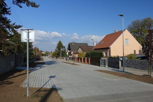 Líbeznice – ulice Pražská